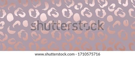 rose gold leopard texture