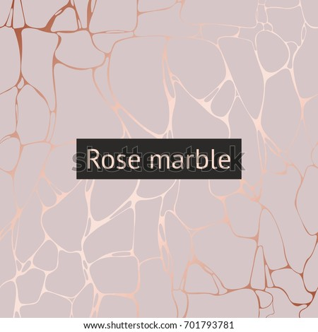 Rose marble. Vector decorative pattern for design and drawing invitations, cards, covers, cases, packaging and other surfaces