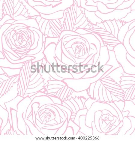 rose  pattern floral background