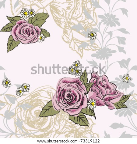 Rose Pattern Vectors Photos and PSD files  Free Download