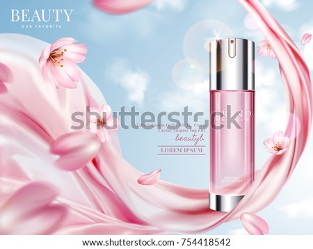 rose toner ads  elegant