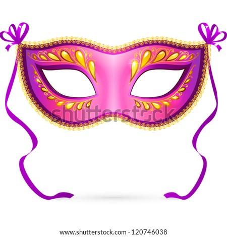 rose violet ornate carnival