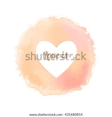 rose watercolor like fully