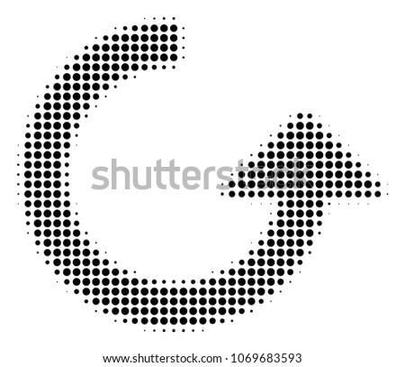 rotate halftone vector
