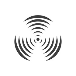 rotating propeller icon vector image