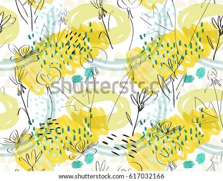 roughly sketched dandelion