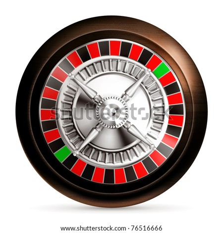 Roulette, 10eps - stock vector