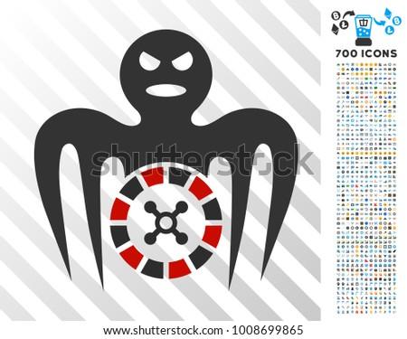 roulette spectre monster icon