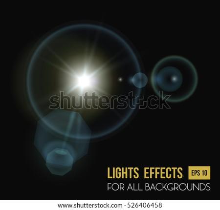 round and hexadecimal sun light