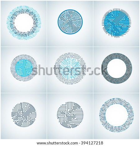 round circuit boards with
