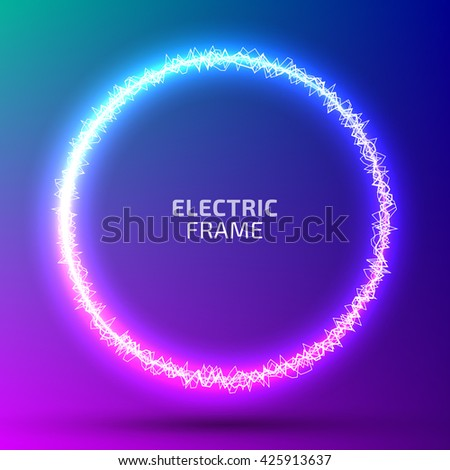 round frame of electric