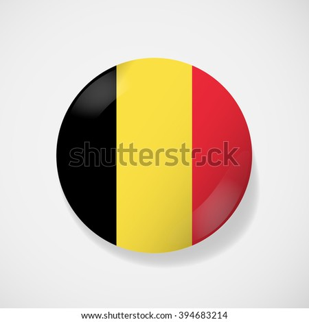 round icon with national flag
