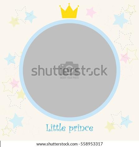 round photo frame for children