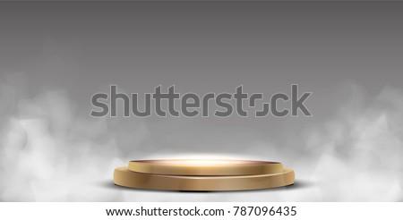 round podium  pedestal or