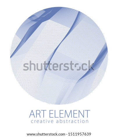 round shape art and design
