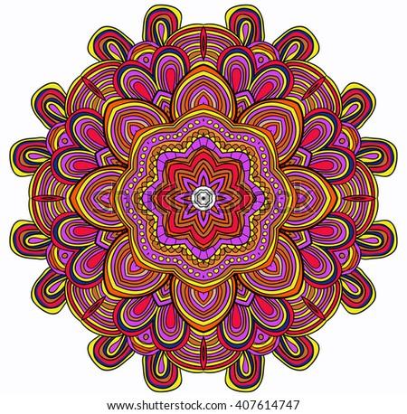 Free Ornamental Mandala Vector Download Free Vector Art Stock