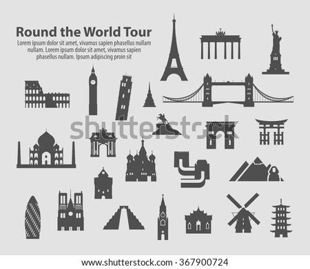 round the world tour set of