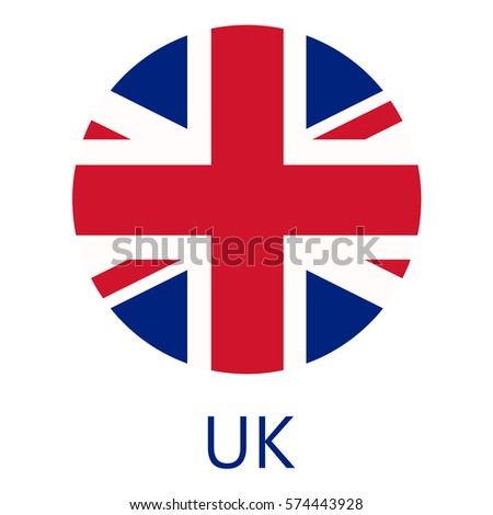 round united kingdom flag