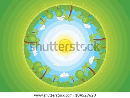 round world ii vector