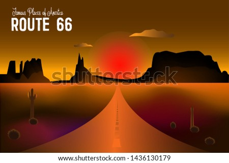 route 66 and the grand canyon