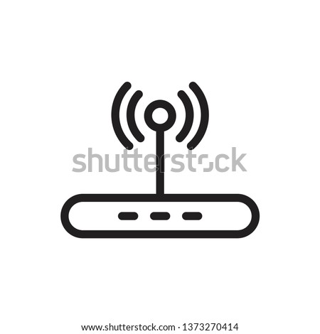 router icon template Сток-фото ©