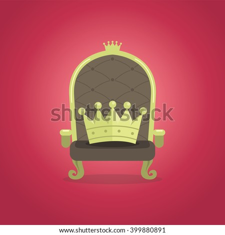 Royal Chair with the crown