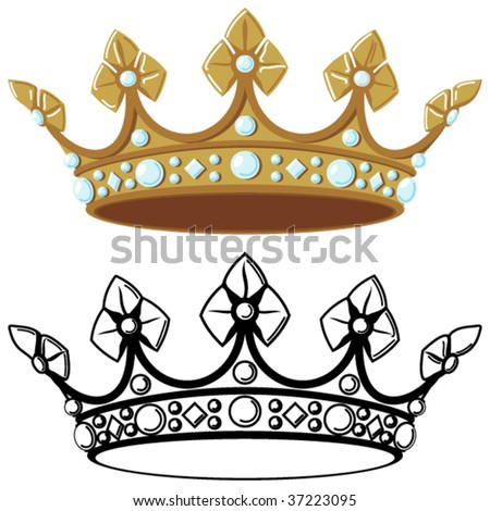 royal crown tattoos