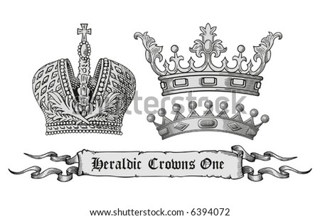 stock vector : royal crown vector