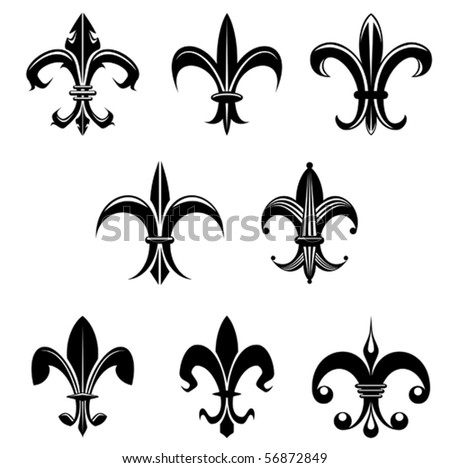Royalty Free Vector Illustration Lily Flower 486642361 Stock Photo