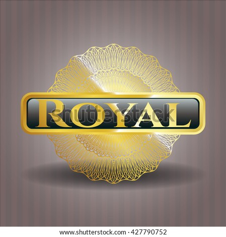 Royal gold badge