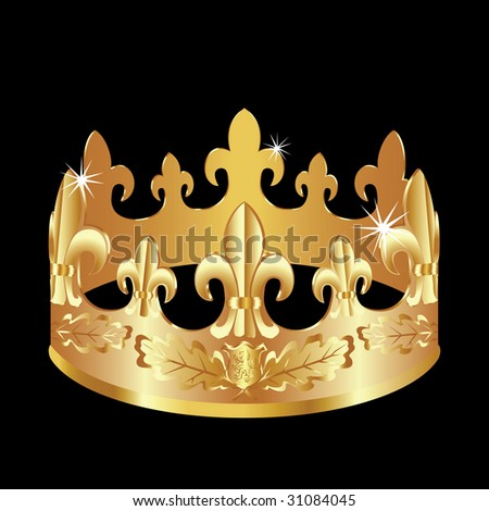 Royal Symbols http://www.shutterstock.com/pic-31084045/stock-vector-royal-gold-crown-as-a-power-symbol.html