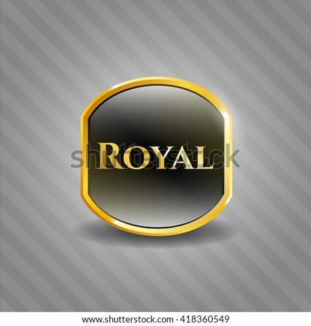royal golden badge