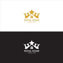 Royal Home Logo in Vector