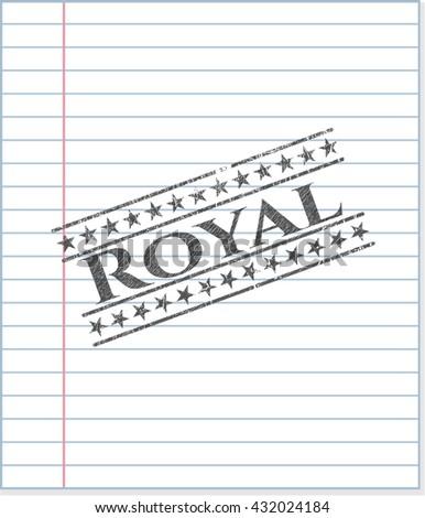royal pencil emblem