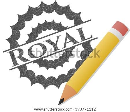 royal penciled