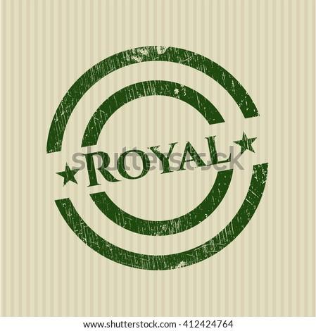 royal rubber grunge seal