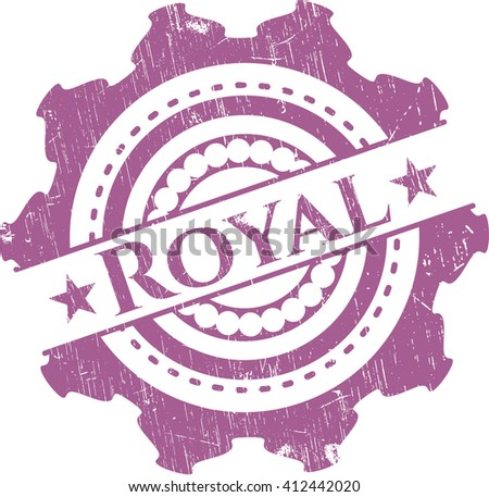 royal rubber grunge texture