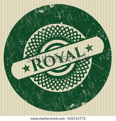 royal rubber texture