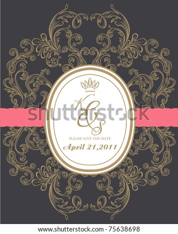 royal wedding card made specially for you