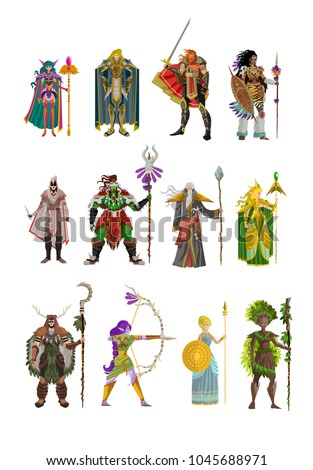 rpg videogame fantasy characters