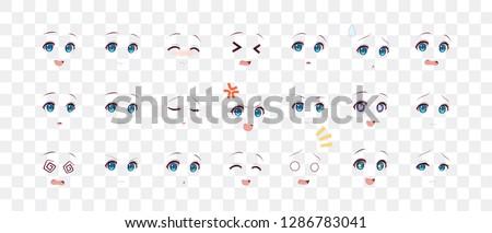 rreal cartoon eyes of anime