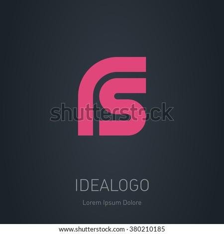 rs initial logo rs initial