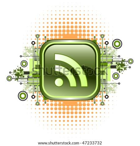 RSS button design
