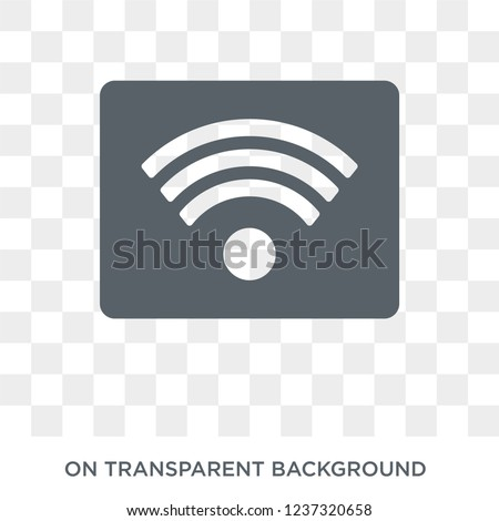 Rss icon. Rss design concept from  collection. Simple element vector illustration on transparent background.