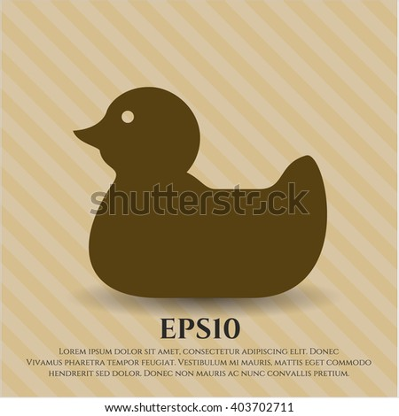 Rubber Duck icon or symbol