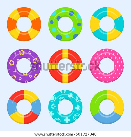 rubber or inflatable ring