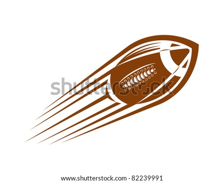 Rugby and american football symbol, such a logo. Jpeg version also available in gallery