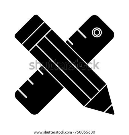 ruler pencil icon