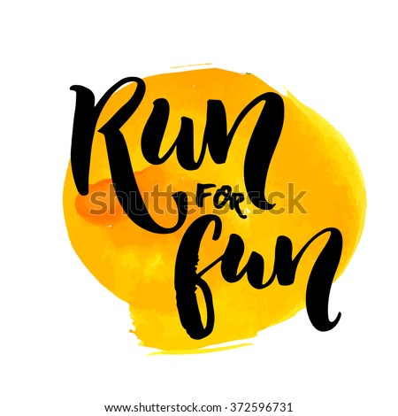 run for fun sport motivation