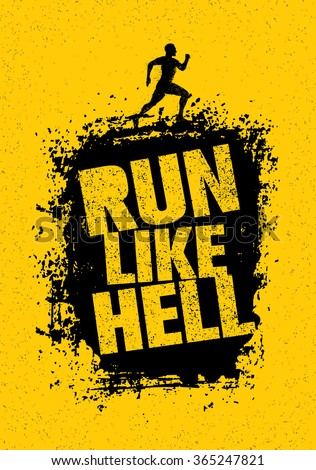 run like hell motivation sport